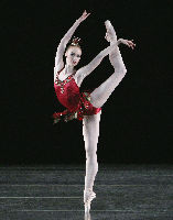 New York City Ballet Principal Dancer Teresa Reichlen in Rubies from JEWELS